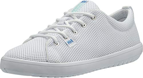 Helly Hansen Women's Scurry 2 Mesh Low-Cut Sneaker, White/Blue Tint/Cornflower, 9