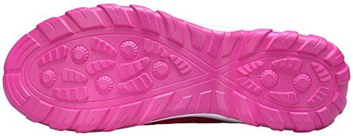 Sneakers Donna Da Leggero Rosa Sportive Ginnastica Dengbosn Grigio Casual Corsa Nero Scarpe Fitness g8HnHxz5