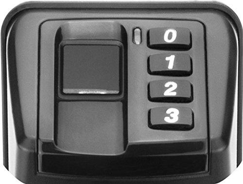 Barska Biometric Door Lock Reversible Handle, Black by BARSKA (Image #5)