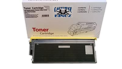 Cartridge Kingz TN460 Compatible Toner Cartridge for use in Brother Printers. Yields up to 6,000 Pages