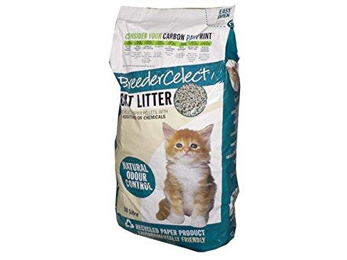 (12 Pack) Fibrecycle Breeder Celect Cat Litter 30L