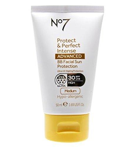 No7保護&完璧な強烈な先進Bb顔の日焼け防止Spf30培地50ミリリットル (No7) (x2) - No7 Protect & Perfect Intense ADVANCED BB Facial Sun Protection SPF30 Medium 50ml (Pack of 2) [並行輸入品] B01N3S2KSQ
