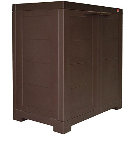Cello Novelty Compact Cupboard – Ice Brown