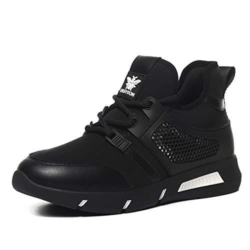 Zapatos de Transpirable Deportivo AJUNR and Zapatos Otoño white Rejilla black de Escalada Fire Super Zapatillas Calzado Ufw8zq