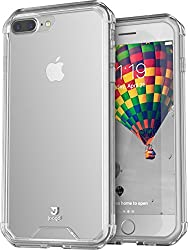 iPhone 7 Plus Case, iPhone 7 Plus Cases, Hybrid Shock Modern Slim Non-slip Grip Cell Phone Case for Apple iPhone 7 Plus (Clear)