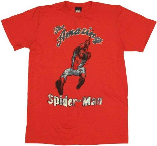 Spiderman Swinger T-Shirt Sheer X-Large