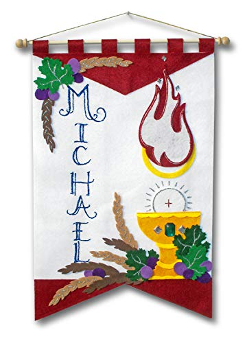 Illuminated Ink First Communion Banner Kit - 12 x 18 - Holy Spirit]()