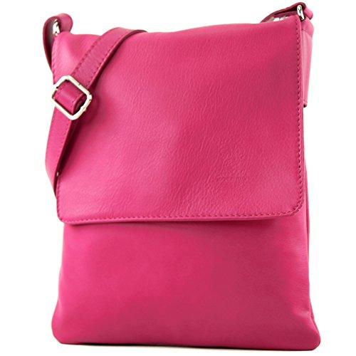 Made Italy - Bolso cruzados para mujer Pink