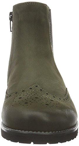 Ganter Frida, Weite F, Zapatillas de Estar por Casa para Mujer Verde - Grün (forest 5800)