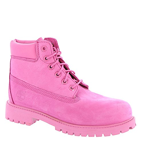 Timberland Kids Girl's 6'' Classic Boot (Little Kid) Ibis Rose Nubuck Boot 1.5 Little Kid M by Timberland