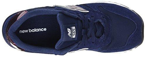New Navy Baskets Wl565v1 Bleu Balance Femme FXqYrF4B