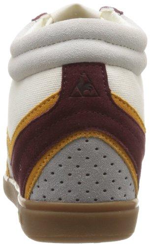 Le Coq Sportif 1311339_COQ - Zapatillas de cuero para mujer Beige (Beige (Chaux/Retro Bordeaux))