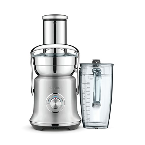 Breville Juice Fountain Cold XL BJE830SIL Electric Juicer, Silver Pearl