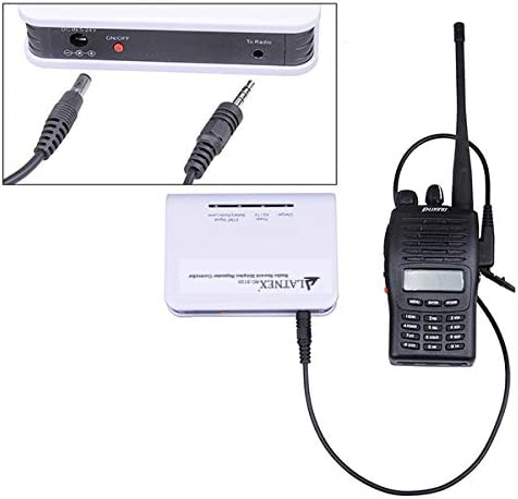 DMR Crossband Repeater and Radio Voice Recorder Connects to Virtually Any UHF Two Way Base Amateur Ham or Mobile Radio LATNEX RC-S120 Simplex Repeater Controller VHF Handheld