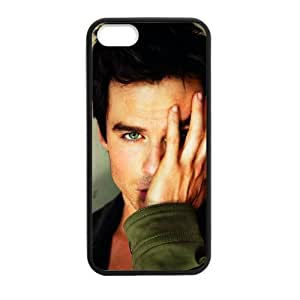 iPhone 5 Case, [Ian Joseph Somerhalder] iPhone 5,5s Case Custom Durable Case Cover for iPhone5s TPU case (Laser Technology) by mcsharks