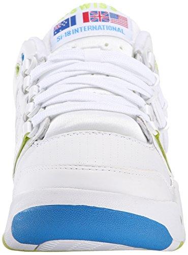 SI K verdes Zapatillas Swiss azul Unisex Blanco 18 International zzR65wq