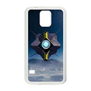 Design Cases Samsung Galaxy S5 I9600 Cell Phone Case White DESTINY Trwddv Printed Cover