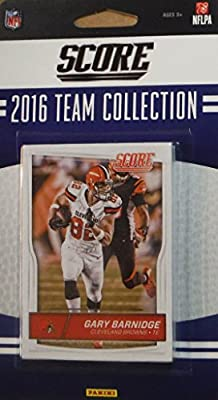 Cleveland Browns 2016 Score EXCLUSIVE Factory Sealed Team Set with Josh McCown, Brian Hartline, 6 Rookie Cards and others