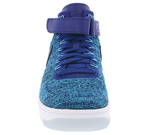 Sneaker 818018 1 Air Blue 400 Blau Flyknit Force W NIKE Women's UqYxwPROP