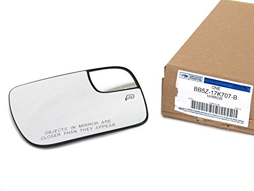 (2011-2015 Ford Explorer Right Passenger Side View Mirror Glass Power Heat)