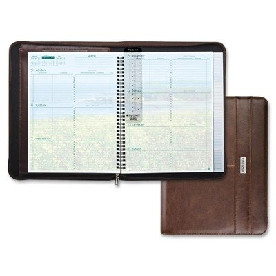 Day Timer Coastlines Weekly (Day-Timer Coastlines Weekly Organizer Notebook 2015, 8.5 x 11 Inch Page Size, Brown (88464))