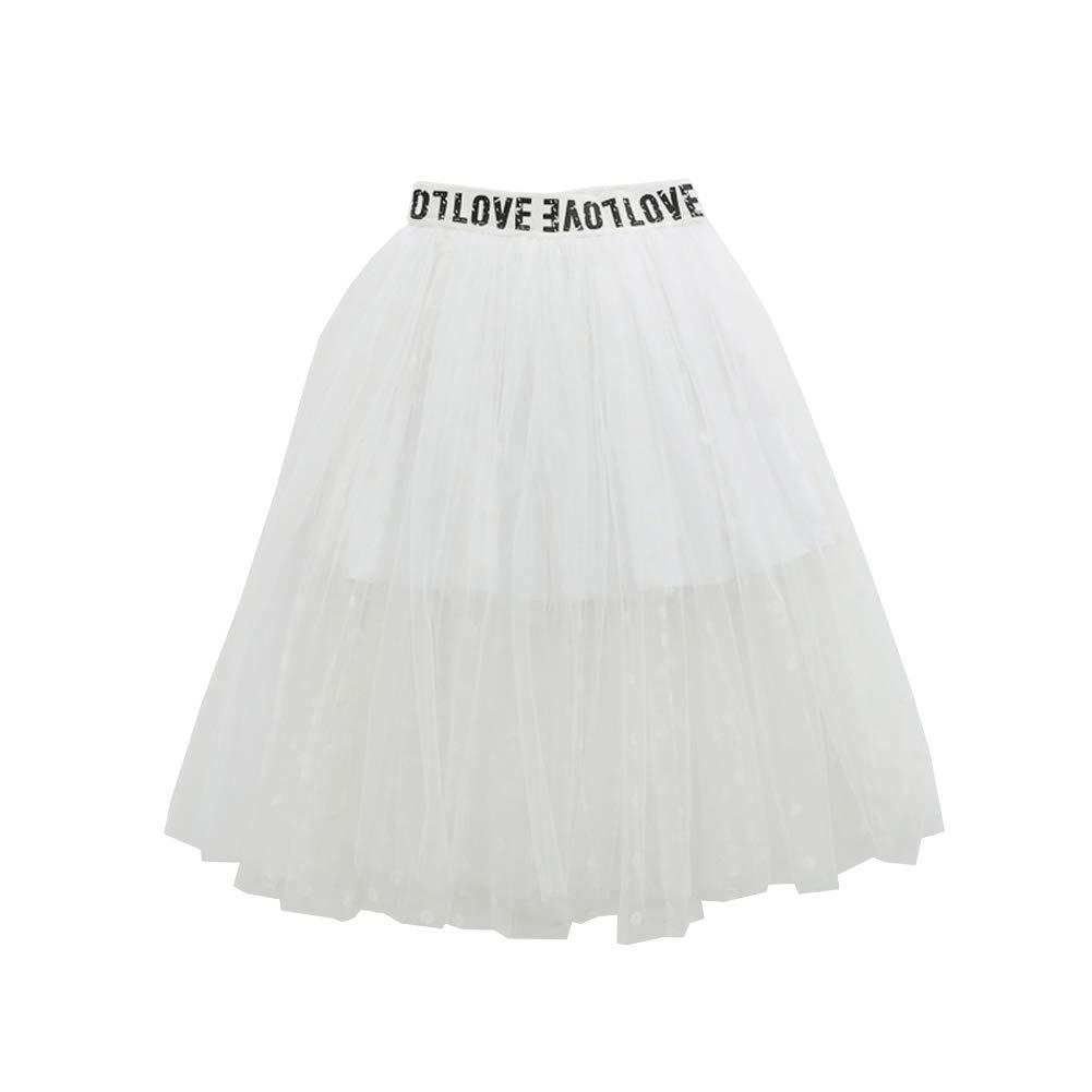 YFCH Gonna tut/ù Tulle Bambina Ragazze Gonna Tutu di Paillettes Principessa Festa Danza Balletto Costume