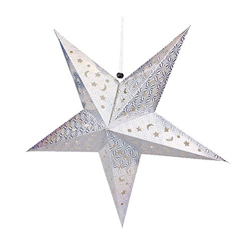 Chunlin 3D Laser Star Paper Lantern Lampshade Hanging