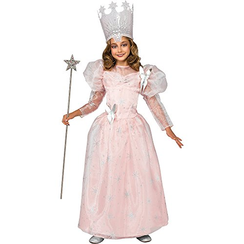 Deluxe Glinda the Good Witch Child Costume - (Glinda Costume For Kids)