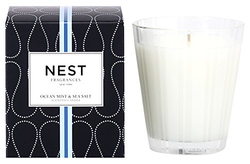 NEST Fragrances Classic Candle- Ocean Mist & Sea Salt , 8.1 oz