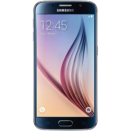 Samsung Galaxy S6 SM-G920T 32GB Smartphone for T-Mobile - Sapphire Black (Renewed) (Phones Cell Tmobile Android)