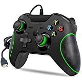 Xbox One Wired Controller, Zamia Wired Xbox One Gaming Controller USB Gamepad Joypad Controller with Dual-Vibration for Xbox