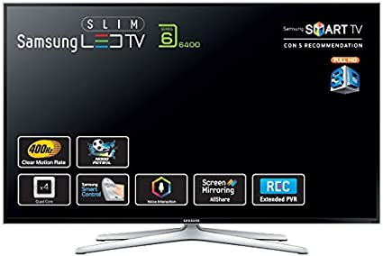 Samsung UE32H6400 - Tv Led 32 Ue32H6400 Full Hd 3D, 4 Hdmi, Wi-Fi Y Smart Tv: SAMSUNG: Amazon.es: Electrónica