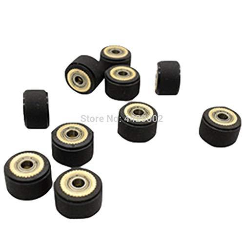 Fevas 4x10x16mm/4x10x14mm/3x11x16mm/4x11x16mm/5x10x16mm/5x11x16mm Pinch Roller for Roland Vinyl Plotter Engraving Machine Printer Part - (Color: 1pc 4x11x16mm)