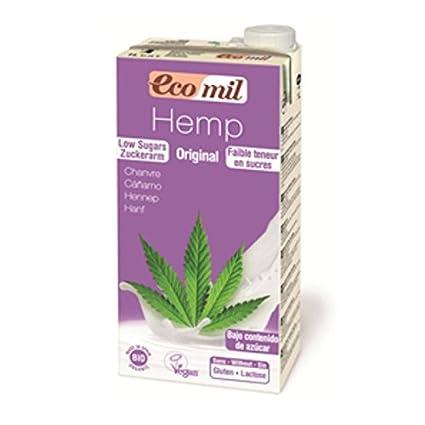 ecomil Hemp Milk Original zuckerarm – 6 x 1 l Leche cáñamo bio