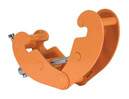 Vestil BC-1 Steel Beam Clamp, 1000 lbs Capacity, 3-1/8'' to 9-5/8'' Flange Width by Vestil