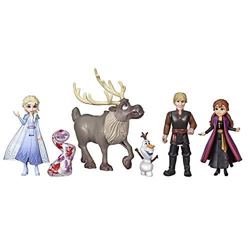 Disney(디즈니) 겨울왕국2   피규어 세트(아나,  엘사, 크리스토퍼, 스벤, 올라푸) 인형