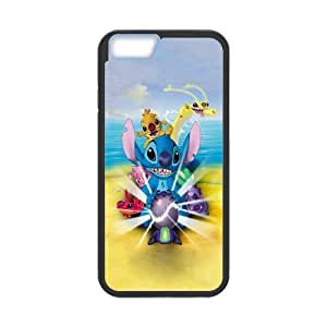"DIY case Cute Ohana means family PC material phone protective cover For Apple Iphone 6,4.7"" screen Cases XFZ389718"