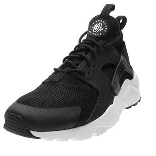 huge discount 69767 f4830 Nike Air Huarache Run Ultra GS, Scarpe da Corsa Uomo Blanco (Black   White
