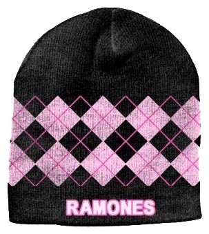 - Argyle Pattern Jaquard Beanie Hat
