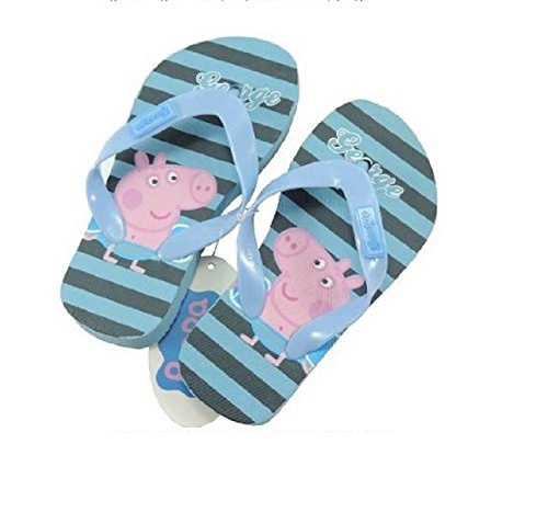Flip Flops George Pig Flip Flop Hausschuhe Schuhe Meer Kinder 25bis 30Peppa Pig–Neueste Größe 29/30