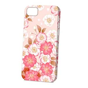Case FunDiy For SamSung Note 4 Case Cover Vogue Version - 3D Full Wrap - Japanese Flowers