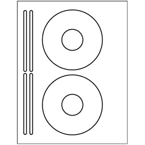 Amazon 200 cd dvd labels use the avery 5931 template to use the avery 5931 template to create these are white matte and can be used in both laser and inkjet printers great value for 50 sheets pronofoot35fo Choice Image