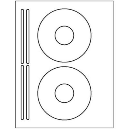 Amazon.com: 200 CD / DVD labels. Use the Avery® 5931 template to ...