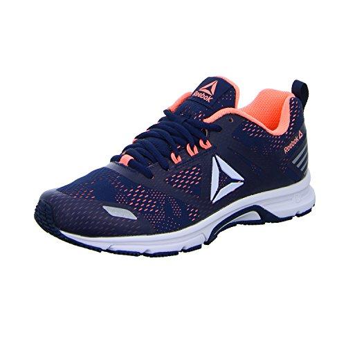 Reebok Ahary Runner, Zapatillas de Trail Running para Mujer Multicolor (White / Collegiate Navy / Digital Pink 000)