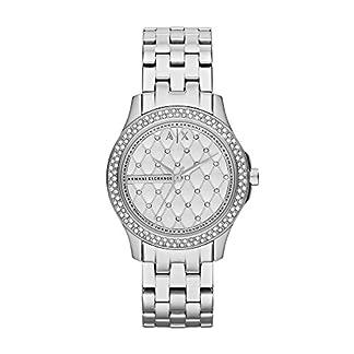 Armani Exchange Damen Analog Quarz Uhr mit Edelstahl Armband AX5215 1
