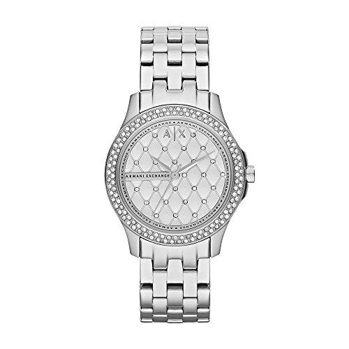 (Armani Exchange Women's AX5215  Silver  Watch)