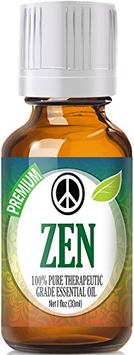 Zen Blend 100% Pure, Best Therapeutic Grade Essential Oil - 30ml - Sweet Marjoram, Roman Chamomile, Ylang Ylang, Sandalwood, Vanilla and Lavender