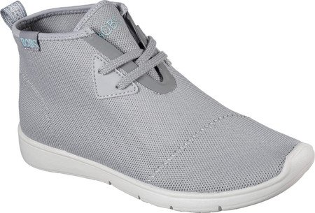 Skechers BOBS Damen Pureflex 2-Knockoutz Flat Grau