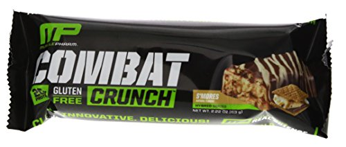 Musclepharm Combat Crunch High Protein Bars 12 Smores