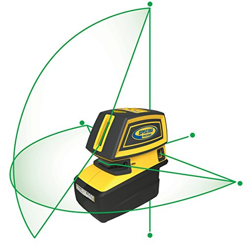 LT52G with cross line and 5 alignment points Laser class 2 - Beam Laser Level Five